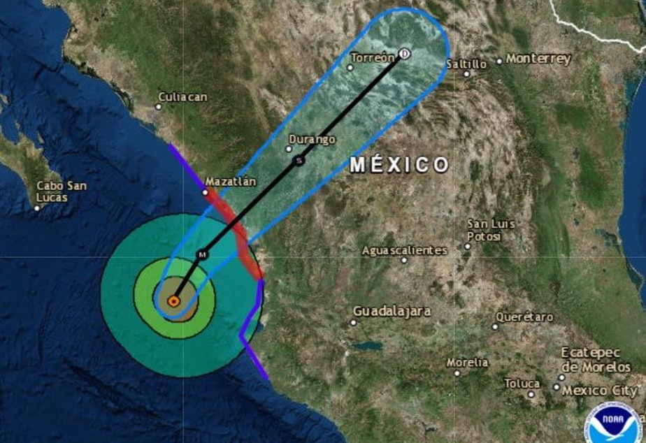 KUOW - Hurricane Willa, A \'Life-Threatening\' Category 4, Nears ...