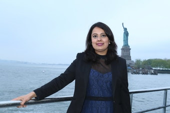 TV journalist Neha Mahajan could lose her work permit if the Trump administration ends a special program for the spouses of H1B guest workers.