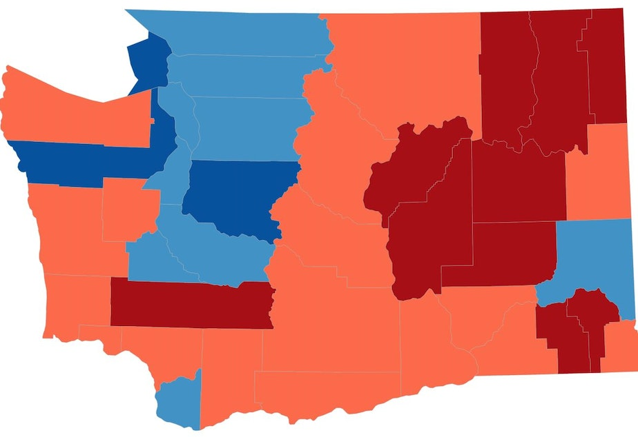 Kuow This Election Map Is A Lie So We Made New Ones - Us-election-results-state-map