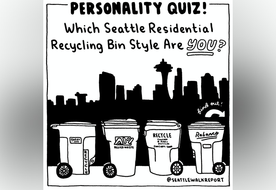 Which recycling bin are you?