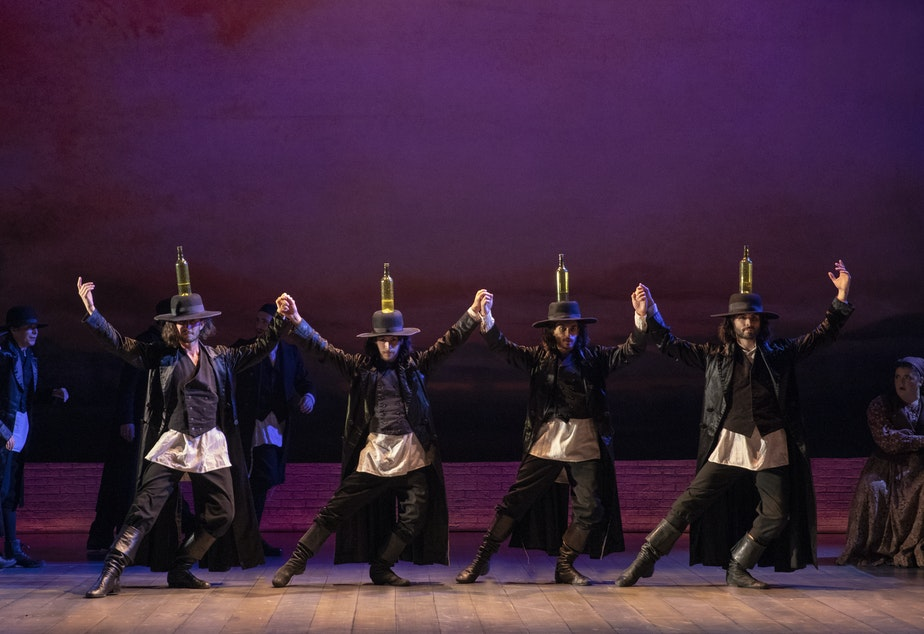 "caption: Seattle Theatre Group presents the touring production of ""Fiddler on the Roof"" January 14-19"