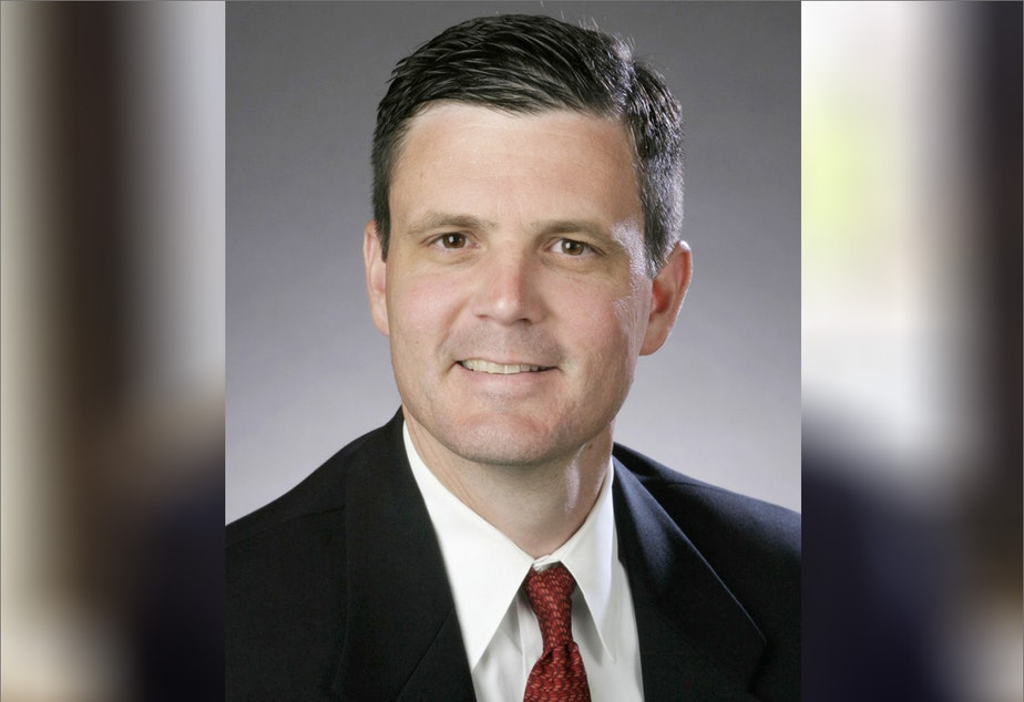 caption: Former Washington state Auditor Troy Kelley's previous criminal conviction has been upheld by a three-judge panel of the 9th Circuit Court of Appeals.