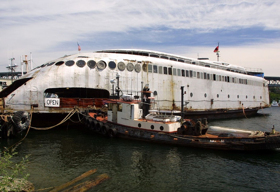 KUOW - Kalakala, Washington's Famed Ferry, To Be Sold For Scrap