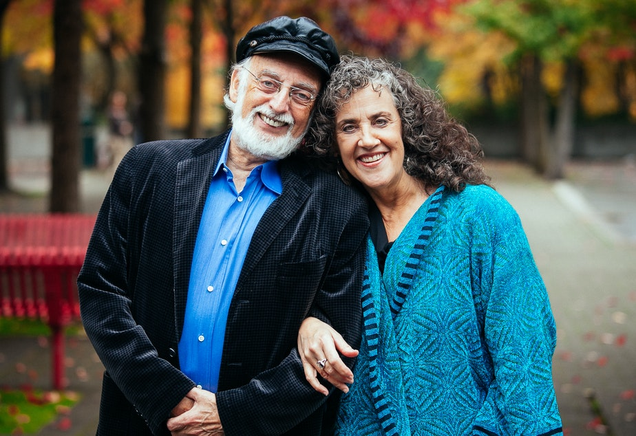 caption: Drs. John and Julie Gottman