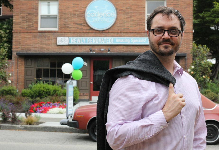 Jon Grant, a candidate for Seattle City Council position 8, said he was approached by developer to settle a land deal in downtown Seattle.