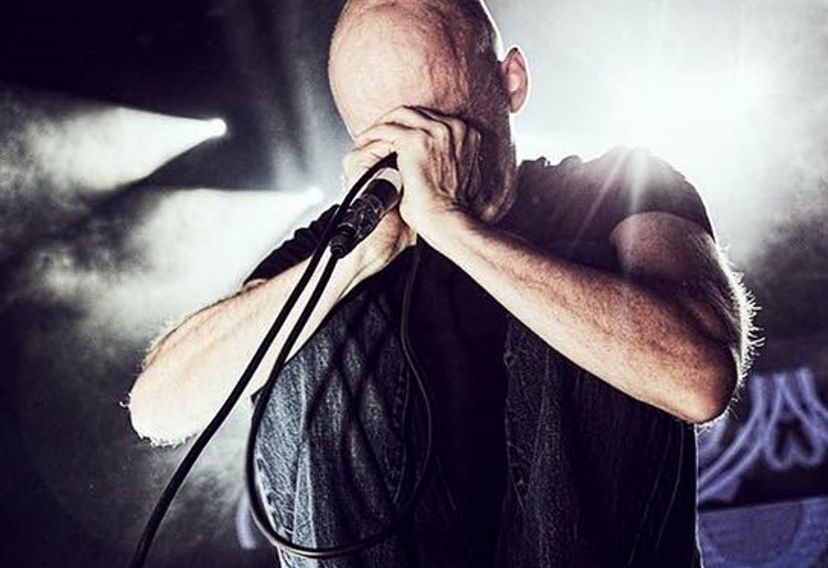 Cover photo of Moby's 'Then It Fell Apart.'
