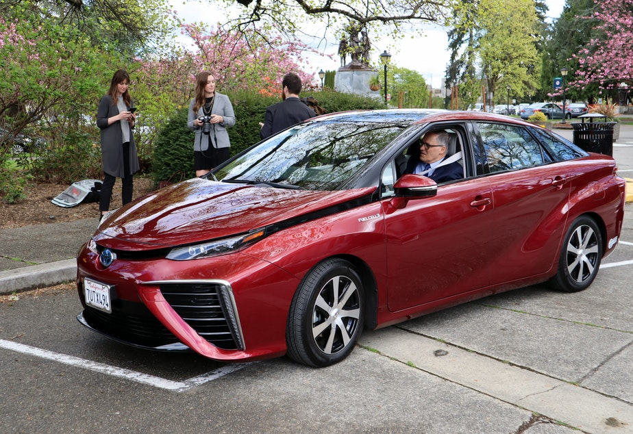 KUOW - Is there room for hydrogen-powered cars in a future