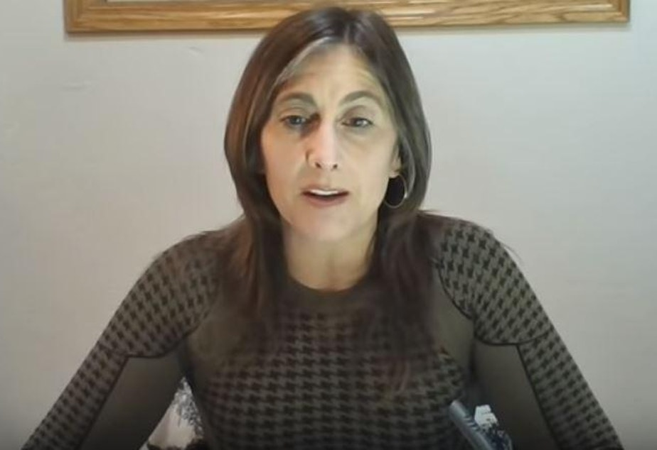 caption: In a video from Redoubt News posted to YouTube April 2, 2020, Idaho Rep. Heather Scott encouraged people to push back against state goverment efforts to address coronavirus