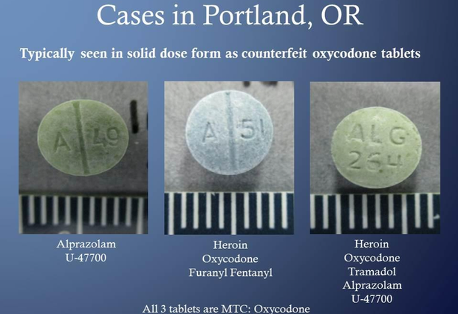 <p>Portland authorities are warning people not to buy prescriptions off the black market. They say black market counterfeit pills often contain other potent drugs that can cause overdose and even death.</p>