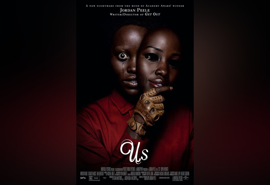The theatrical release poster of Us.