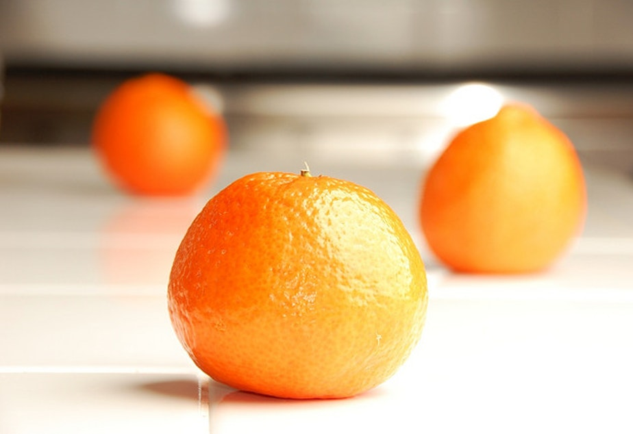 caption: Oranges and other foods with beta carotene are converted to vitamin A in the body and are recommended by nutritionist Mary Purdy to ward off illness.