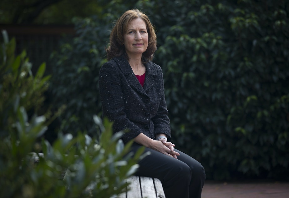 Dr. Kim Schrier is running to replace retiring Congressman Dave Reichert in the 8th Congressional District, east of Seattle.