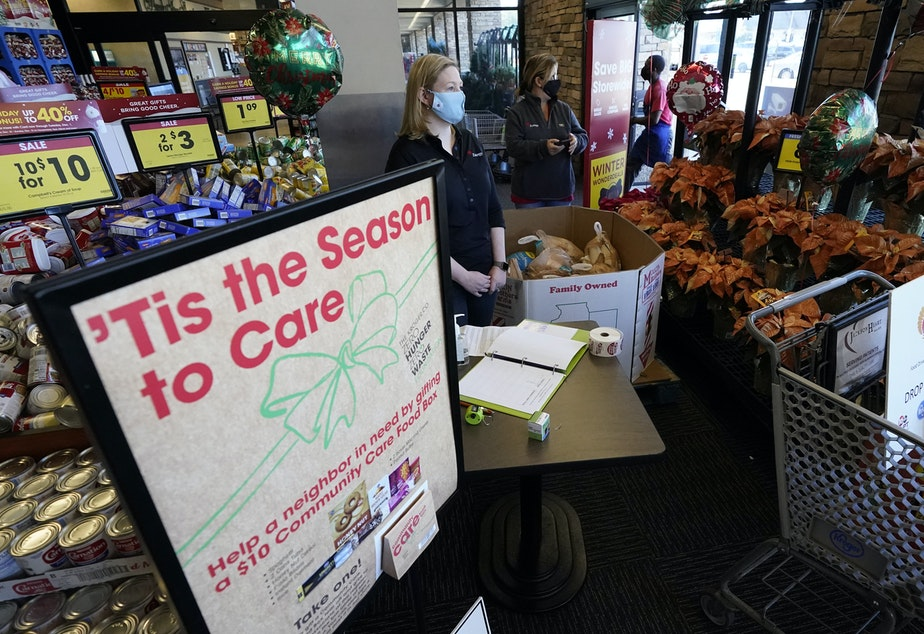 caption: Many Americans are mourning the loss of Thanksgiving traditions due to the coronavirus pandemic, such as family gatherings. But some are seeking new rituals to mark the holiday.