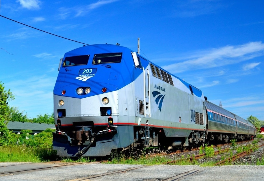 caption: Amtrak will restore a bunch of curtailed service in the Pacific Northwest on May 24.