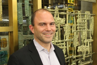 Ben Rhodes at the Seattle Public Library Central Library