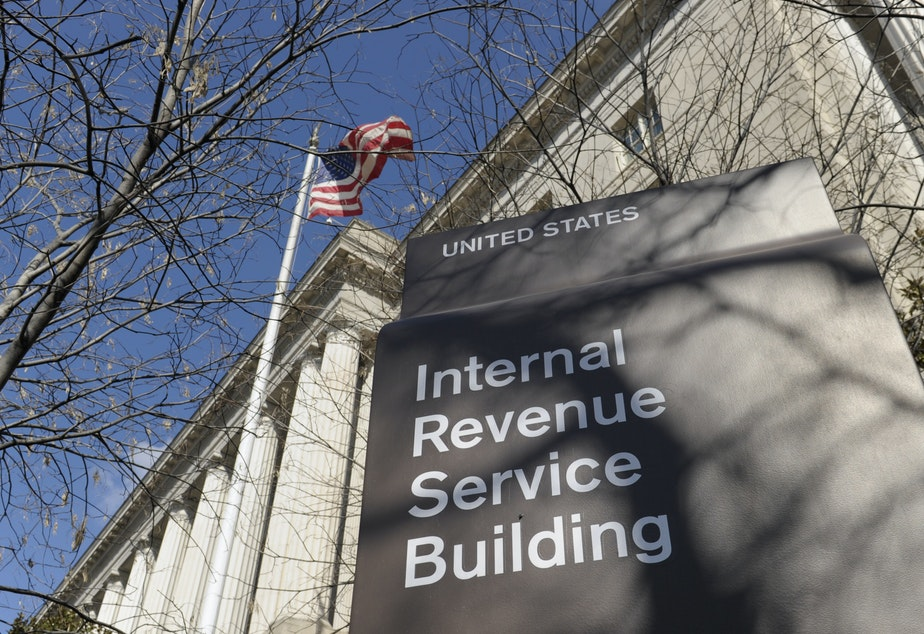 caption: Taxpayers faced with smaller refunds or higher taxes have been airing their grievances online.