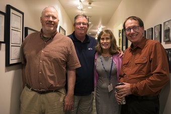 L-R: Mike McGinn, Chris Vance, Joni Balter, Ross Reynolds