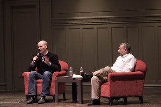 Matt Taibbi and Joel Berg at Town Hall Seattle
