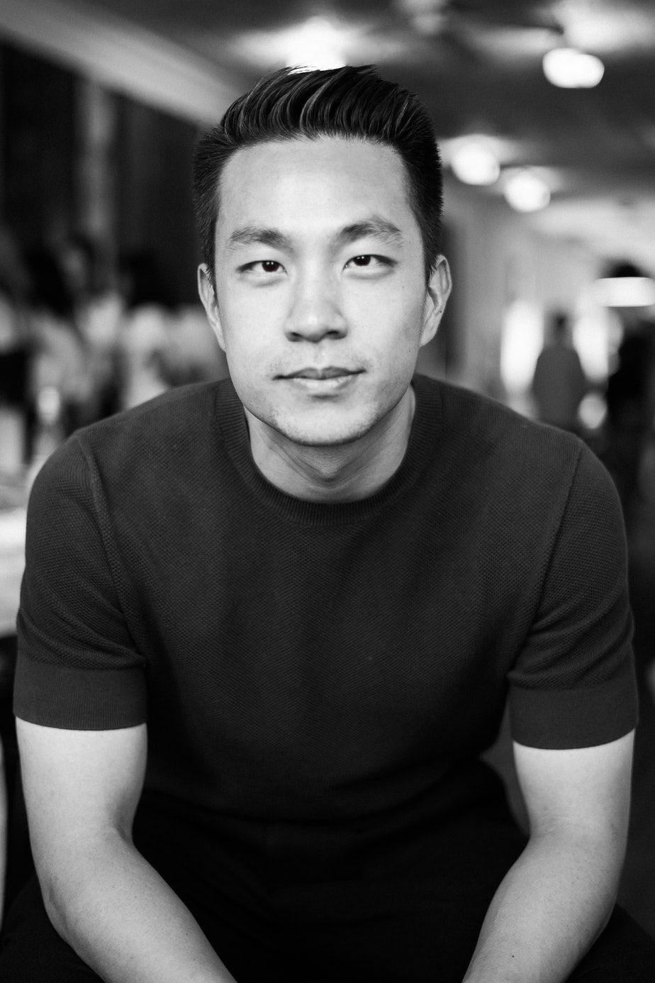 caption: portrait of Brooklyn-based photographer Andrew Kung