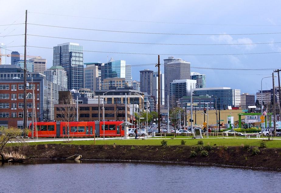 South Lake Union neighborhood, home to many Seattle tech companies
