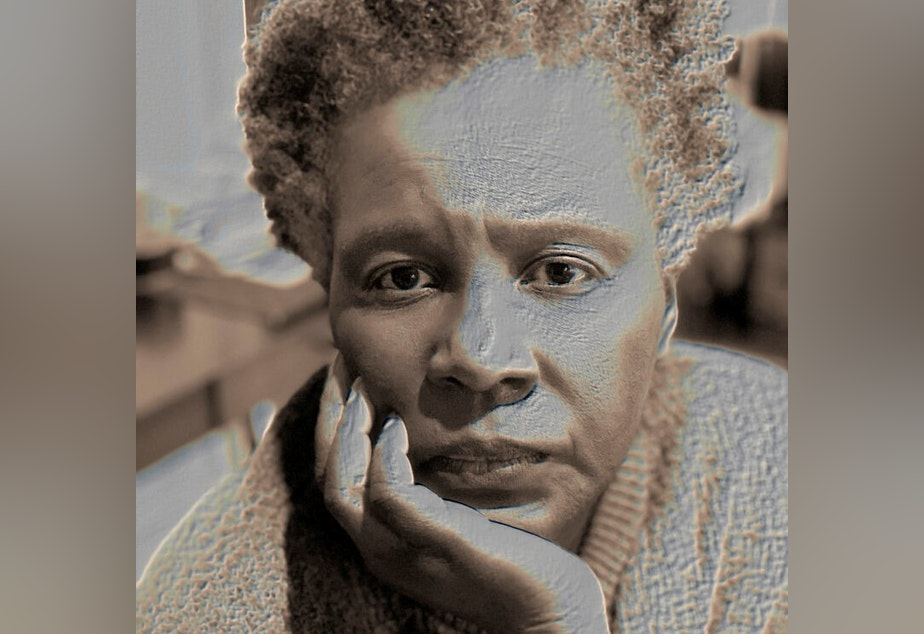 caption: Author Claudia Rankine