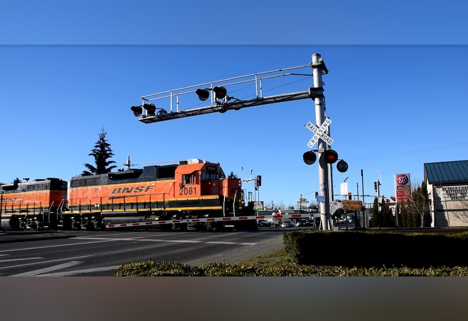 Trains running through Marysville can be up six minutes long, which doesn't sound like a lot unless you are constantly getting stuck in their traffic backup.