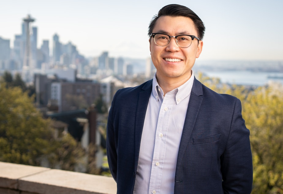 caption: State Senator Joe Nguyen is running to unseat King County Executive Dow Constantine.