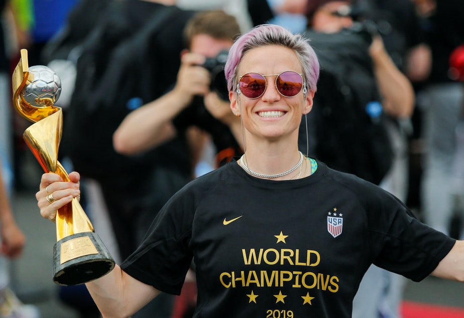389d8ef8 KUOW - WATCH: Women's National Soccer Team Parades Through NYC's ...