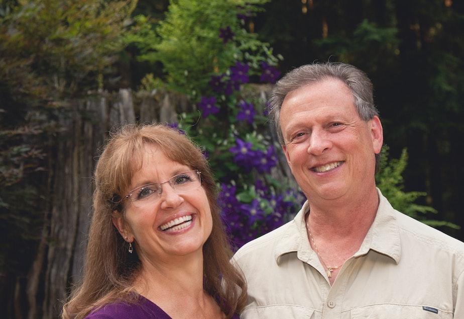caption: Kurt Julian, right, with wife Kathy. Kurt passed away May, 2020