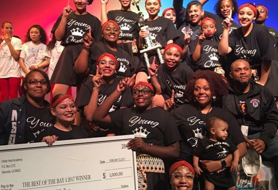 Northside Step Team wins first place for their Black Lives Matter piece at the 2017 Best of Bay Step Competition.