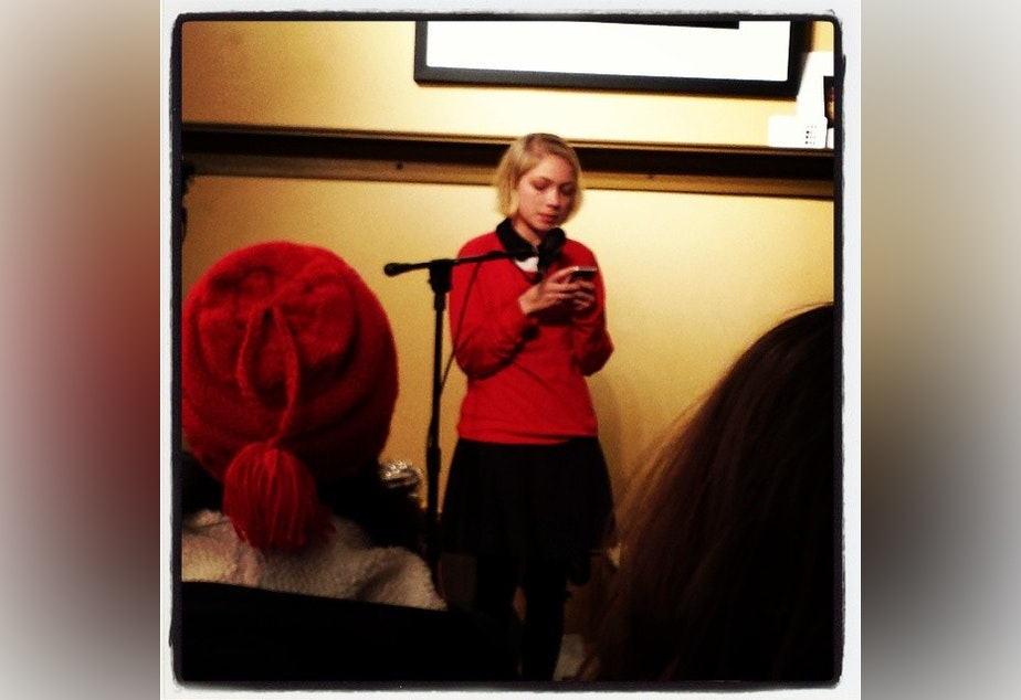 Tavi Gevinson at a Rookie Mag event in Chicago.