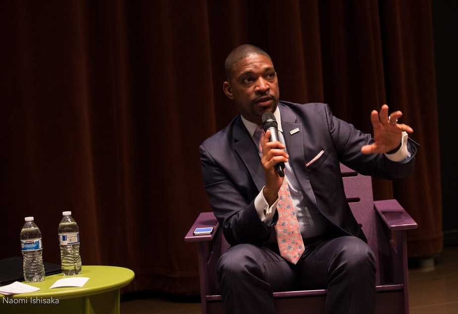 Rev. Starsky Wilson at Seattle Public Library