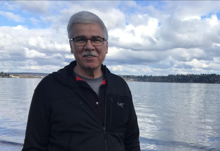 Former EPA Region 10 administrator Dennis McLerran by Lake Washington in Seattle