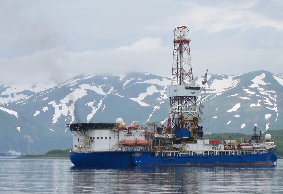 KUOW - Shell's Oil Rigs Leave The Arctic -- And Will Skip