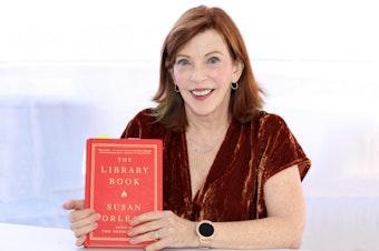 Susan Orlean at the 2018 Texas Book Festival in Austin, Texas in 2018.
