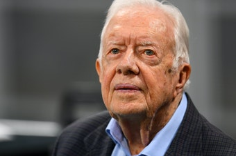 """Former President Jimmy Carter has devoted much of his post-presidential life to observing elections overseas. He is aksing GOP gubernatorial candidate Brian Kemp to step down from his position as Georgia secretary of state in order """"to ensure the confidence of our citizens."""""""