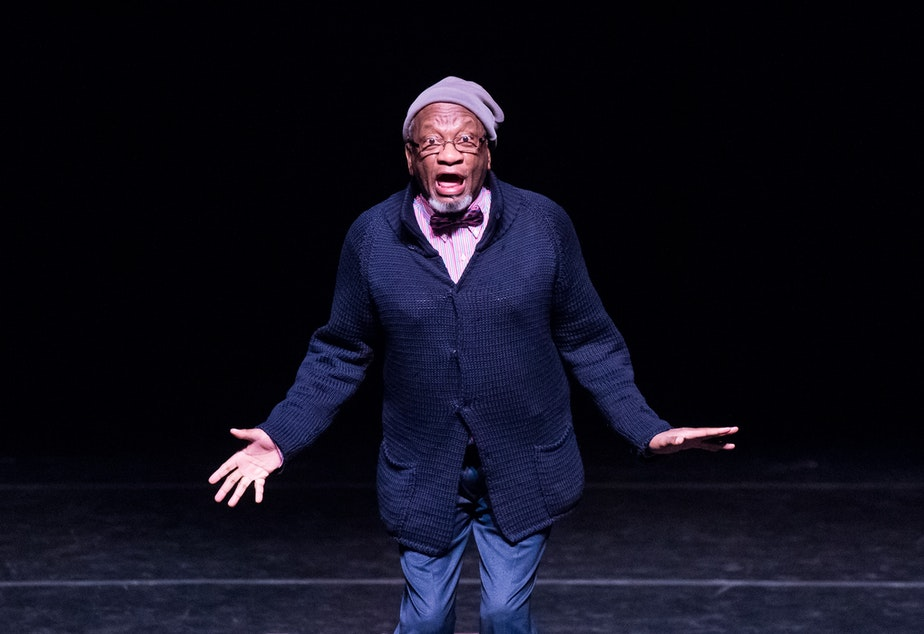 caption: Donald Byrd, choreographer for Spectrum Dance Theater, is demanding a more frank dialogue about race.