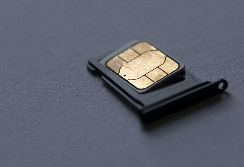 This is a SIM card.