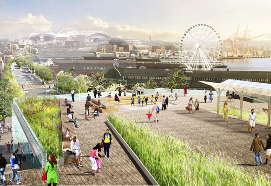 caption: A vision of what the waterfront could be - with a few extra thousand in taxes.