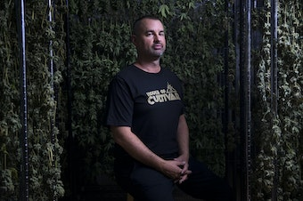 Jason Hutto, Founder and CEO of House of Cultivar, poses for a portrait on Wednesday, July 18, 2018, at House of Cultivar in Seattle. Tap or click on the first image to see more.