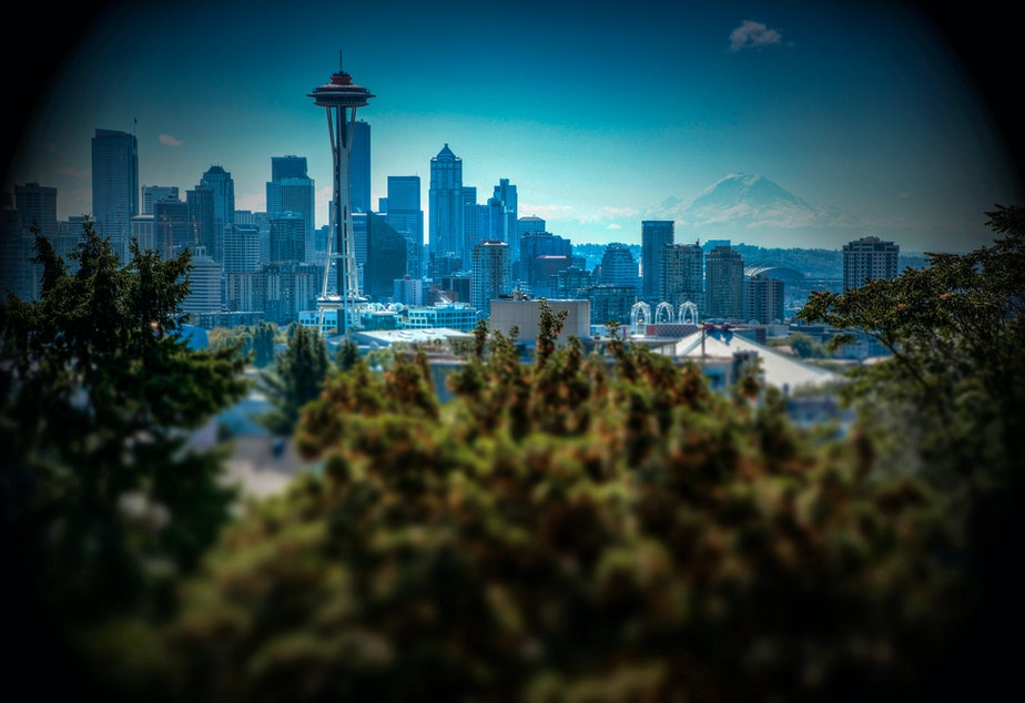 caption: The Puget Sound region is expected to keep growing largely on our strength as a tech hub - even without without continued massive growth by Amazon.