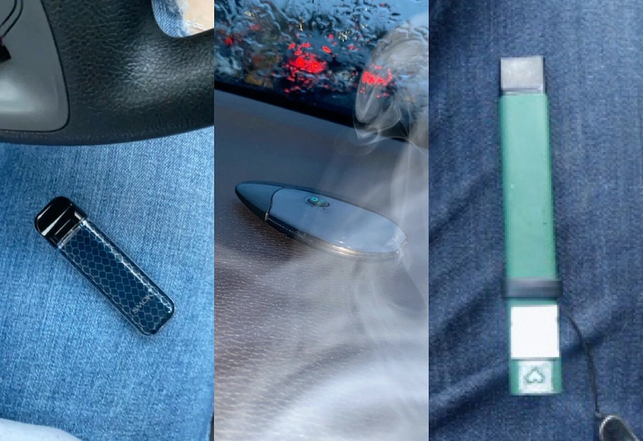 High School Teens Snap Chat Vape Devices