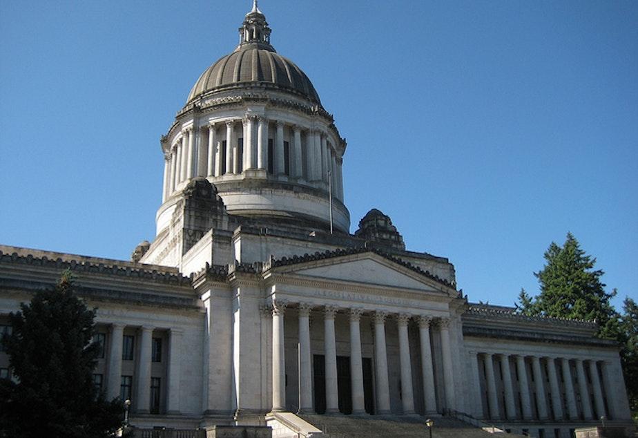 Washington state capitol.