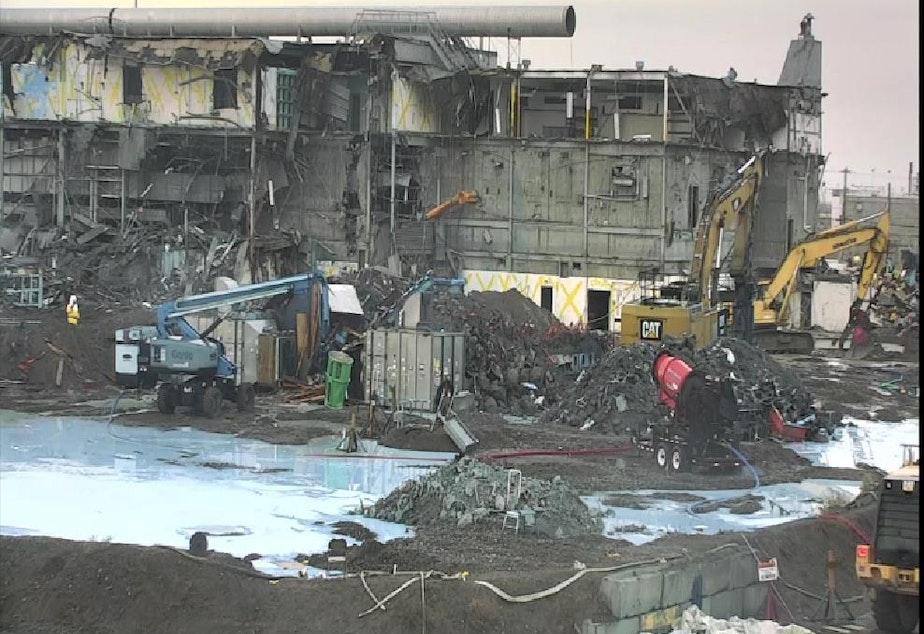 The Plutonium Finishing Plant in Richland Washington