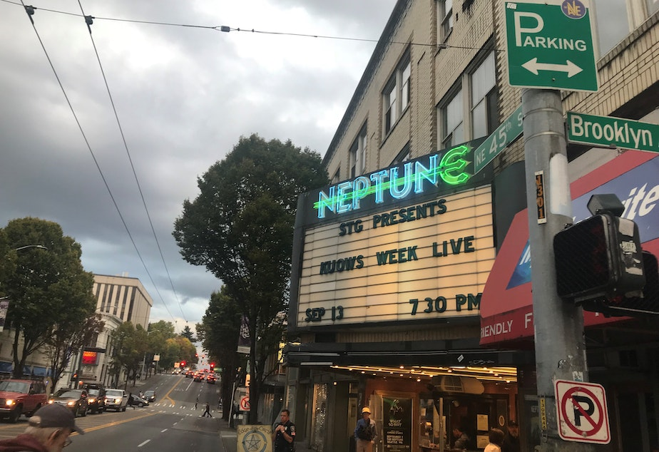 Week In Review recorded at Seattle's Neptune Theatre