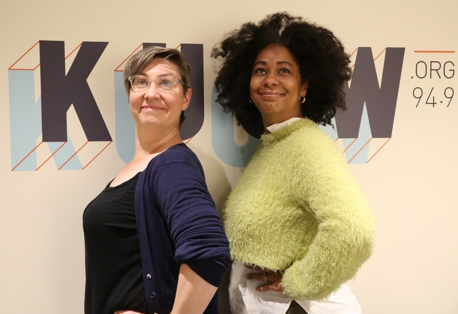 Jeannie Yandel and Eula Scott Bynoe, hosts of Battle Tactics for your Sexist Workplace, are ready to tackle gender bias in the workplace.