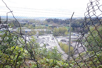 The view from the back of an apartment complex in Skyway, in unincorporated King County