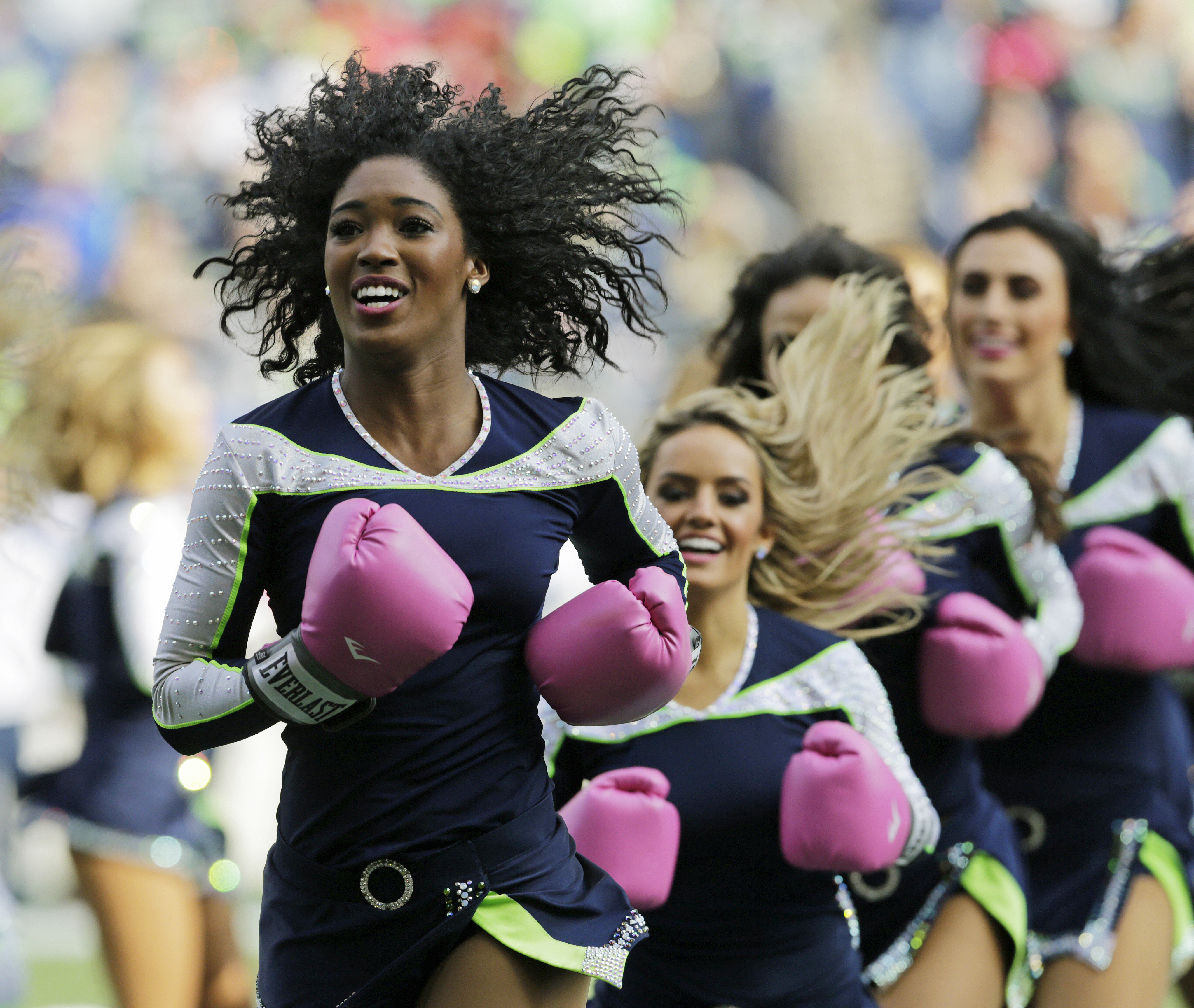 6cd920af KUOW - Seahawks cheerleaders earn minimum wage — and can't date players