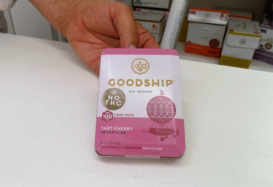 caption: Pastilles made by the Goodship Company.