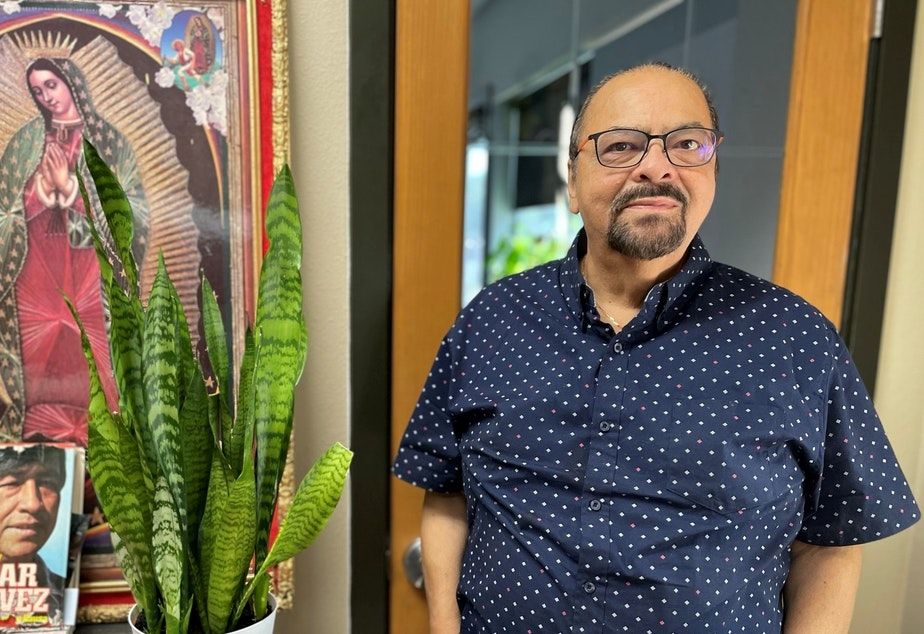 caption: Bernal Baca of Mi Centro.